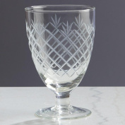 Etched 14cm Wine Glass