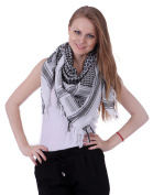 HDE Military Shemagh Neck Scarf Desert Tactical Style Head Wrap Keffiyeh Chequered Scarf