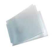 Buxton Vinyl Window Inserts for Billfold Wallets with Wing Bar, Clear