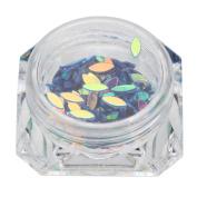 Kanzd DIY Beauty Colourful Nail Sequins Art Rhinestone Crystal Nail Glitter Manicure Decoration