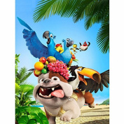 5D DIY Diamond Painting,NACOLA Rhinestone Pictures Of Crystals Embroidery Kits Arts Crafts & Sewing Cross Stitch-Animals