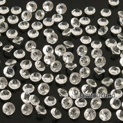 2,000 pcs 4.5mm Diamond Table Confetti Acrylic Wedding Party Decor Crystals Vase Filler Clear