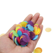 TOYMYTOY Circle Confetti Multicolor Paper Table Confetti for Party Wedding Decorations 10000pcs