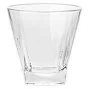 Barski European Glass - Square - Double Old Fashioned Tumbler - Uniquely Designed - Set of 6 - 350ml - Made in Europe