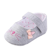 Baby Cat Shoes,Hongxin Toddler Girl Crib Shoes Newborn Flower Soft Sole Anti-Slip Baby Sneakers