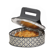 Picnic Plus Round Thermal Insulated Pie, Cake Carrier Holds Up To A 30cm D Dish