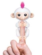 Fingerlings Monkey Toy, Lary intel Electronic Pet Interactive Baby Monkey Children Kids Toy - White