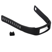 Replacement Fitness Wristband Band for Garmin Vivofit Replacement Strap Bands S L Small Lager Size to All size-Black