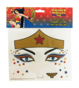 Wonder Woman Peel and Stick Face Tattoos