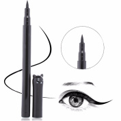 Liquid Eyeliner - Liquid Eyeliner Pencil - 1PC Beauty Cat Style Black Long-lasting Waterproof Liquid Eyeliner Eye Liner Pen Pencil Makeup Cosmetic Tool - Liquid Eyeliner Marker