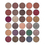 Allwon Pressed Eyeshadow Single Eyeshadow Shimmer Matte Eye Shadow Palette Magnet Palette DIY Cosmetic Make Up,5ml