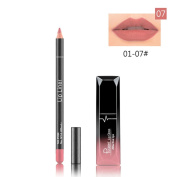Sympath Long Lasting Lipstick Waterproof Matte Liquid Gloss Lip Liner Cosmetics Set