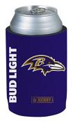 Bud Light Baltimore Ravens NFL Team Can Coolie