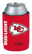 Bud Light Kansas City Chiefs NFL Team Can Coolie