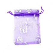"KINGWEDDING 4""x6"" 10x15cm Organza Drawstring Strong Candy Jewellery Pouch Gift Bag For Party Wedding Favour (100Pcs)"