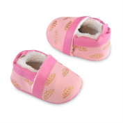 Child of Mine by Carter's Newborn Baby Girl Princess Shoes, NB