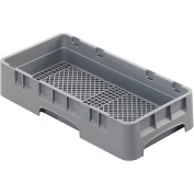 Cambro Half Size Flatware Rack Soft Grey HFR258-151