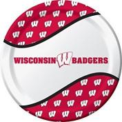 Wisconsin Badgers Party Bundle 23cm Plates