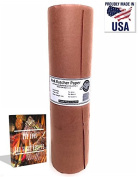 """Pink Butcher Kraft Paper Roll – 18"""" x 175' . Peach BBQ Smoking Paper 