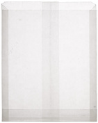 100 Plain Wet Wax Sandwich Bags 6 x 1 x 7; Good for sandwiches, snacks, baked goods, crafts, and more.
