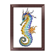 OHTOP Sea Horse 5D Diamond Embroidery Painting Cross Stitch DIY Craft Home Decor Gift