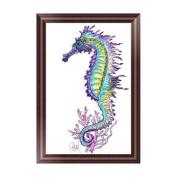 OHTOP 5D Diamond Painting,DIY Sea Horse Embroidery Cross Stitch Craft Home Decor