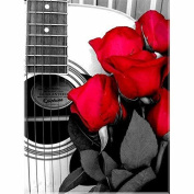 5D DIY Diamond Painting,NACOLA Rhinestone Pictures Of Crystals Embroidery Kits Arts Crafts & Sewing Cross Stitch-Red Roses And Sexy Women