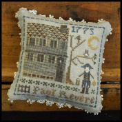 Early American - Paul Revere Cross Stitch CHart