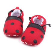 Hongxin Lovely Toddler First Walkers Baby Shoes Round Toe Flats Soft Slippers Shoes