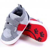 Hongxin Baby Shoes Boy Girl Newborn Crib Soft Sole Shoe Cotton Cloth Sneakers Sports Shoes