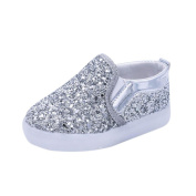Baby LED Luminous Shoes,SMYTShop Child Kids Toddler Baby Boy Girl Anti-slip Sneakers Sequins Light Shoes