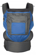 Onya Baby Outback Baby Carrier - Tahoe Blue/Slate Grey