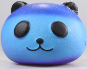 Boomable Squishy Squeeze Toy, Kawaii Starry Panda with Cream Scented Stress Reliever Gift for Kids