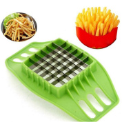 KINGZHUO Stainless Steel Potato Cutter Cut Fries Device French Fry Fries Cutter Potato Vegetable Slicer Kitchen Tool