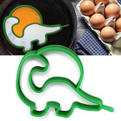 Binmer(TM) Little Cute Owl Frog Shaper Eggs Mould Silicone Moulds Egg Ring Silicone Mould Cooking Breakfast Tools