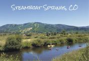 Steamboat Springs, Colorado, Yampa River, Mountains, Tubing, Souvenir Magnet 2 x 3 Fridge Magnet
