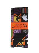 Halloween Reversible Spiderweb Witches Ghosts and Bats Drying Dish Mat 38cm X 50cm
