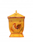 Sunshine Rooster Collection, Hand-Painted Cookie Jar