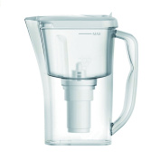 10 Cup Everyday Water Filtering Pitcher with 1 Filter, BPA Free, White