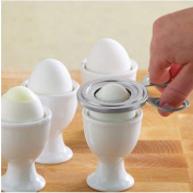 Stainless Steel Kitchen Egg Topper Cutter