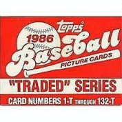 Barry Bonds Rookie 1st card w/ Complete 1986 Brand New Topps Traded Set