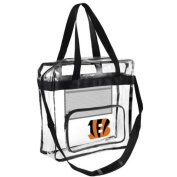 NFL Football Team Logo High End See Thru Clear Messenger Bag