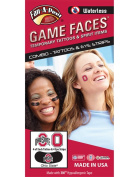 Ohio State University (OSU) Buckeyes – Waterless Peel & Stick Temporary Tattoos – 12-Piece Combo