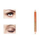 Double-headed Pearling Eyeshadow Pencil, Vinjeely Lie Silkworm Pen Durable Waterproof