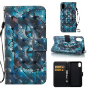 Iphone X Case,Spritech Wallet Folio PU Leather Flip Case Cover with Card Holder for Iphone X