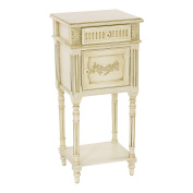 Sofaweb.com Distressed Hand Painted Cream Finish Accent Chest