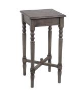 Privilege Wood Accent Tables 28424 Privilege 28424 Square Accent Table - British Brown 14 X 70cm X 36cm Brown
