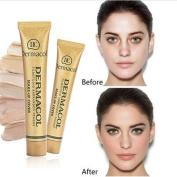 Concealer ,Vanvler High Covering Conceal Make Up Foundation Cream Film Studio Cover