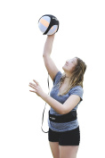 Puredrop Volleyball Training Equipment Aid : great trainer for solo practise of serving tosses and arm swings. Returns the ball after every swing. Adjustable cord and waist length, fits any volleyball