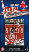 Boston Red Sox 2017 Topps Factory Sealed Limited Edition 17 Card Team Set with Dustin Pedroia Andrew Benintendi Mookie Betts Plus
